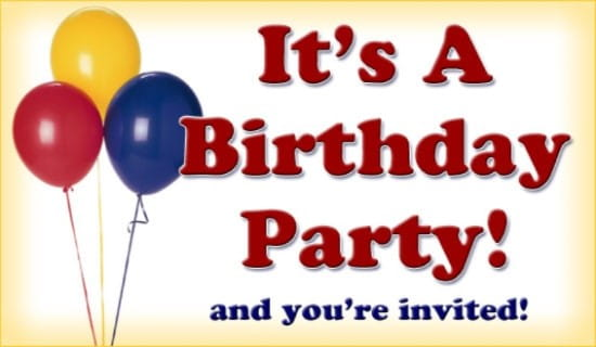 free its a birthday party ecard email free personalized birthday party cards online