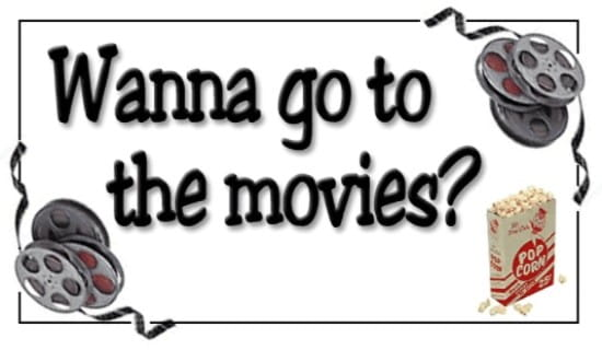 Wanna Go To The Movies? ecard, online card