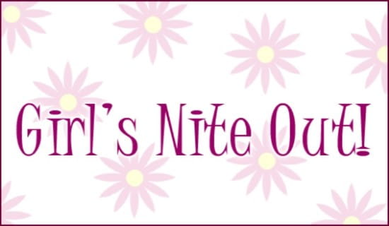 Girl's Nite Out ecard, online card