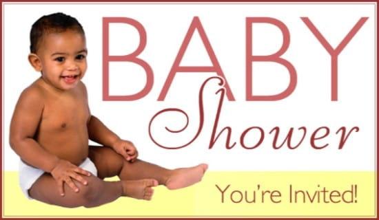 Baby Shower ecard, online card