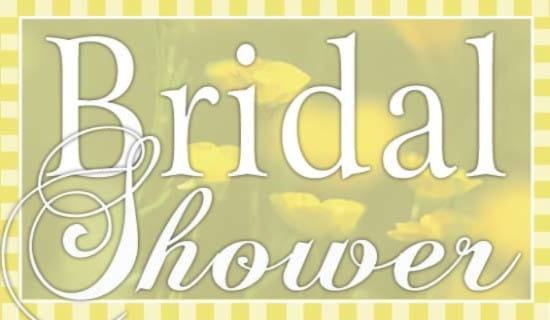 bridal shower ecard online card