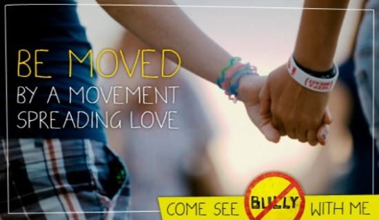Bully Movie Invite ecard, online card