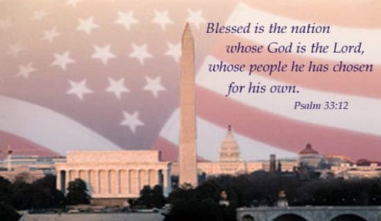Blessed Is The Nation... ecard, online card