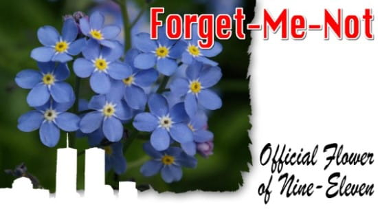 9-11 Forget-Me-Nots ecard, online card