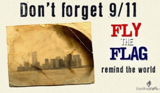 Fly the Flag ecard, online card