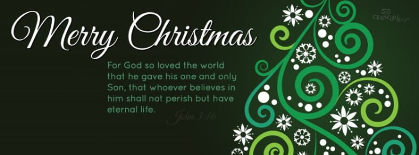 Merry Christmas   John 3:16 Mobile Phone Wallpaper
