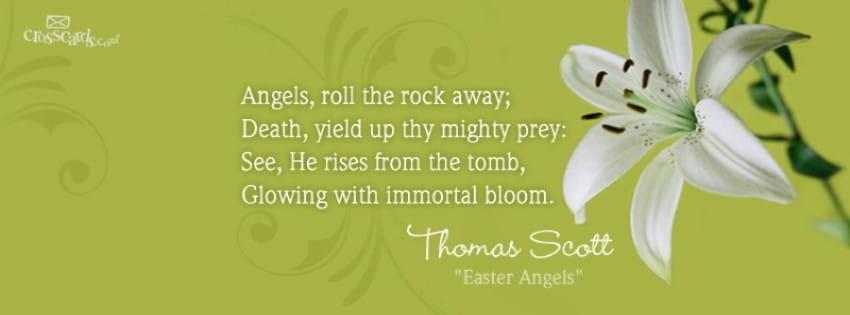 Easter Angels mobile phone wallpaper