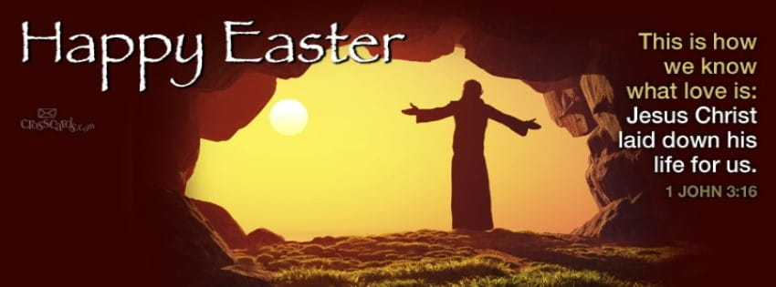 Happy Easter - Eternal Life mobile phone wallpaper