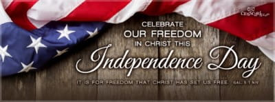 Freedom in Christ mobile phone wallpaper