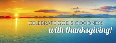 celebrate gods goodness