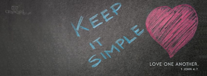 Keep it Simple mobile phone wallpaper