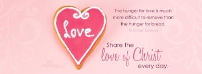 Love of Christ mobile phone wallpaper