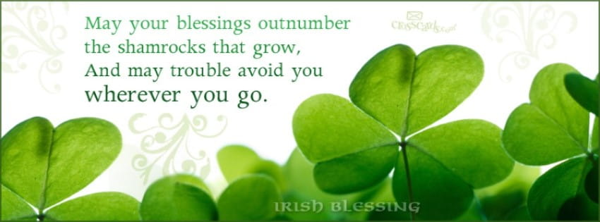 Irish Blessing mobile phone wallpaper