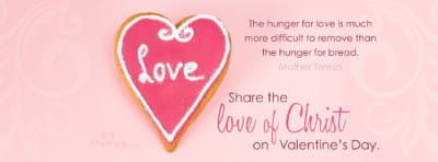 Valentine's Day mobile phone wallpaper