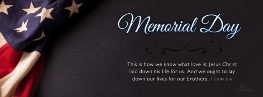 Download Memorial Day Christian Facebook Cover Banner