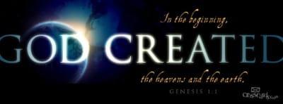 Genesis 1:1 mobile phone wallpaper