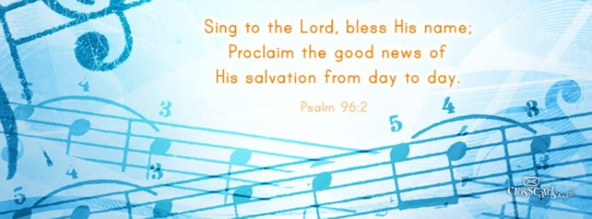 Sing to the Lord mobile phone wallpaper