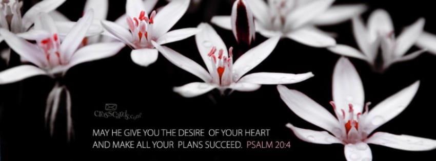 Psalm 20:4 mobile phone wallpaper