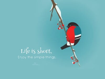 Life is Short mobile phone wallpaper