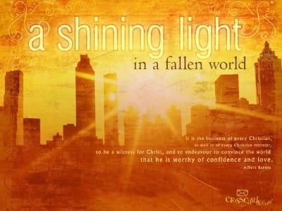 Shining Light mobile phone wallpaper