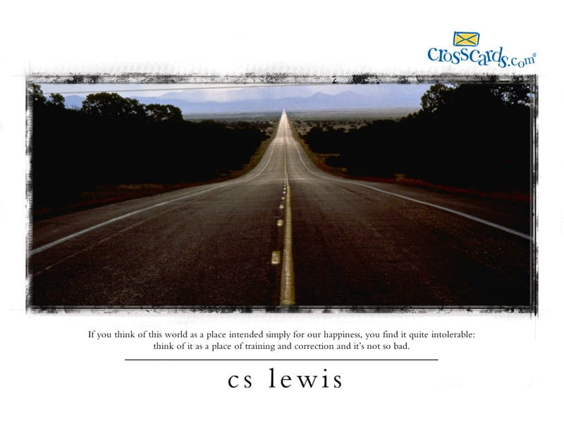 C.S. Lewis mobile phone wallpaper