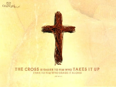 Take Up Cross mobile phone wallpaper