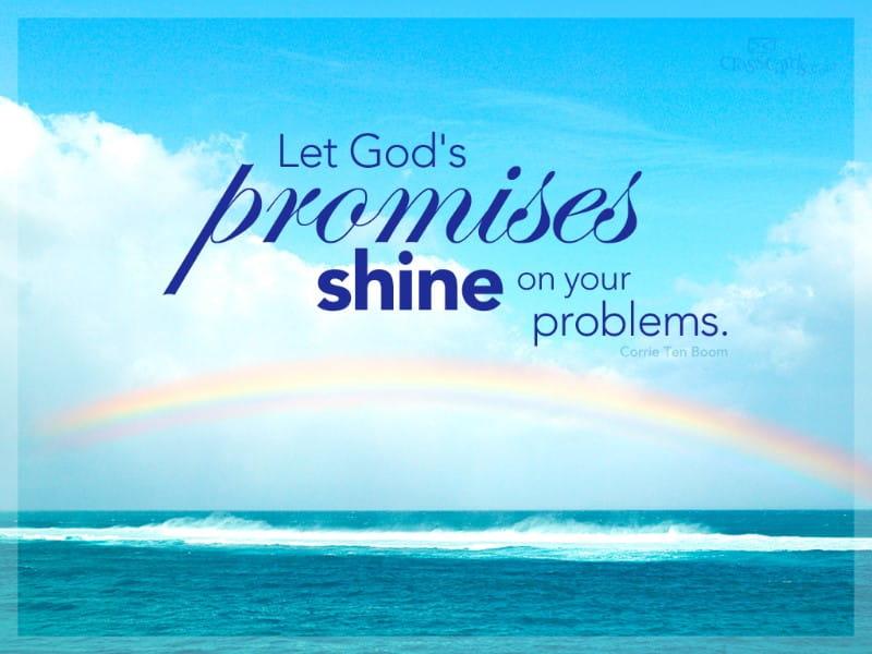 God's Promises mobile phone wallpaper