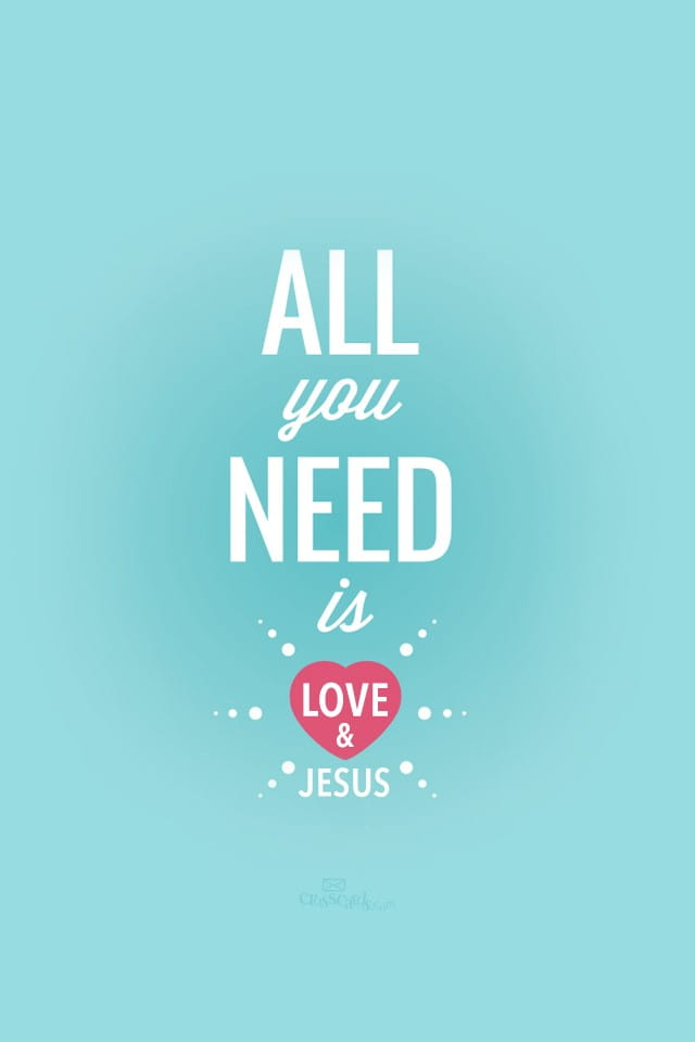 Need Love Jesus Desktop Wallpaper