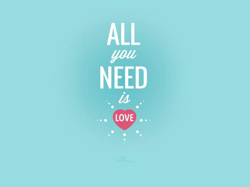 All You Need Is Love mobile phone wallpaper