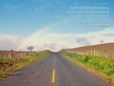 Saint Patrick Quote mobile phone wallpaper