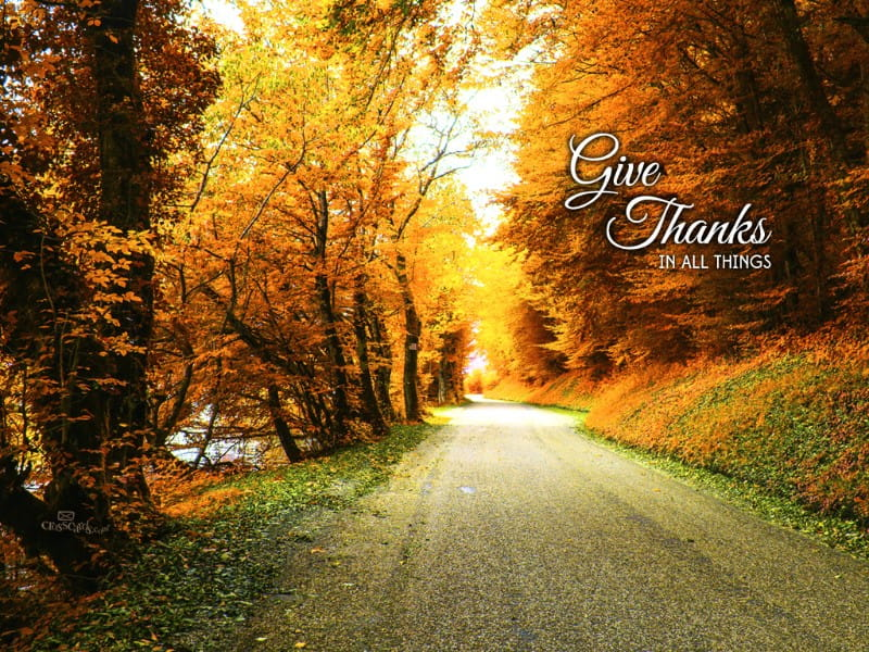 Give Thanks  mobile phone wallpaper