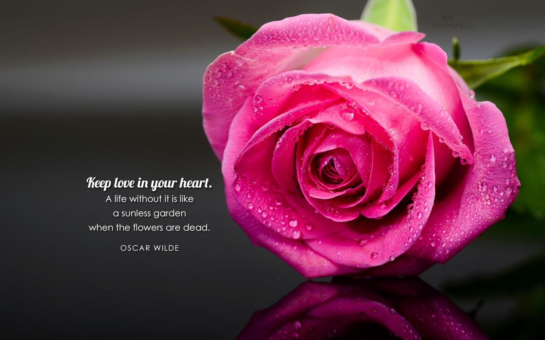 Oscar Wilde Quote Desktop Wallpaper Free Backgrounds