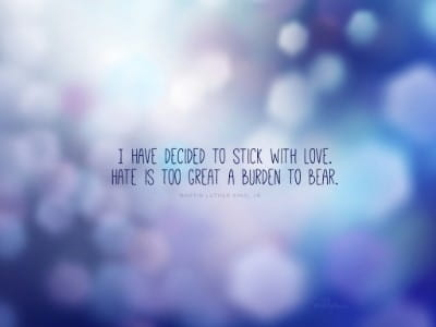 Quote Wallpapers · Stick With Love