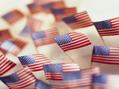 American Flags mobile phone wallpaper