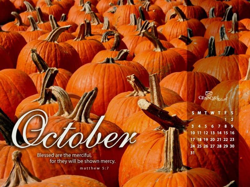 October 2010 - Matthew 5:7 mobile phone wallpaper