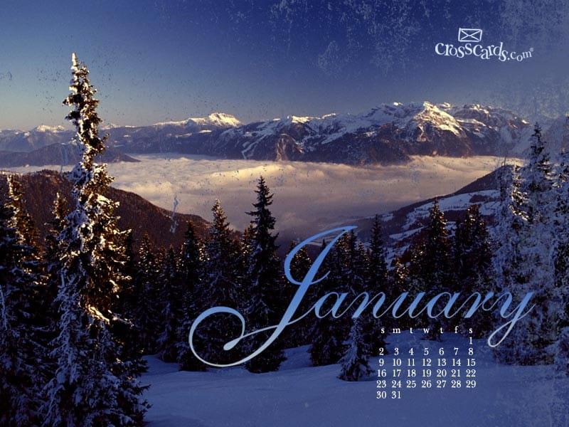 January 2011 mobile phone wallpaper