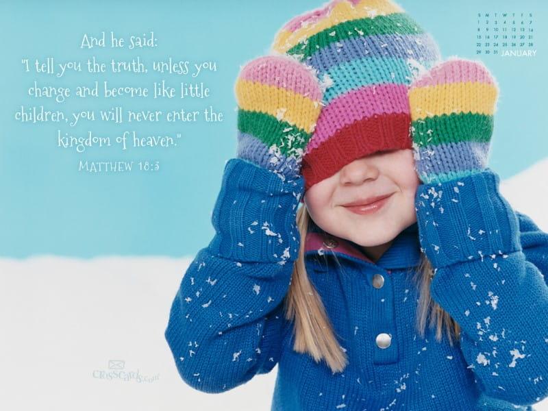 Jan 2012 - Little Children mobile phone wallpaper