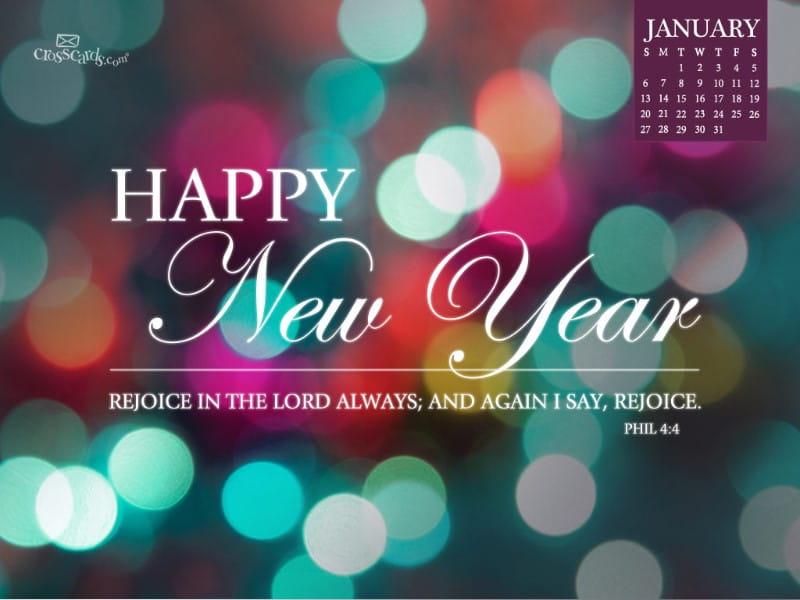 Jan 2013 - New Year mobile phone wallpaper