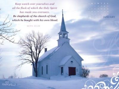 Jan 2013 - Church mobile phone wallpaper