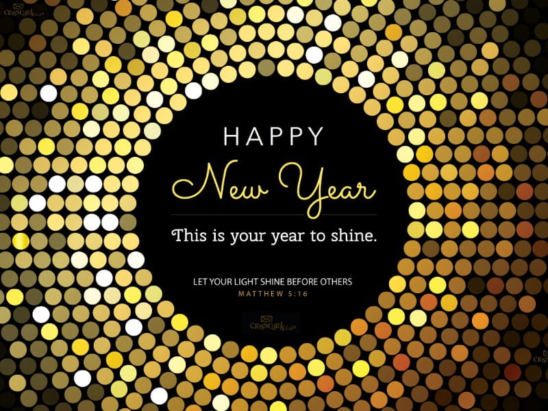 Your Year to Shine mobile phone wallpaper