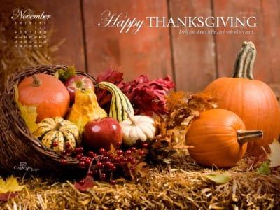 nov 2012 thanksgiving desktop calendar free november wallpaper