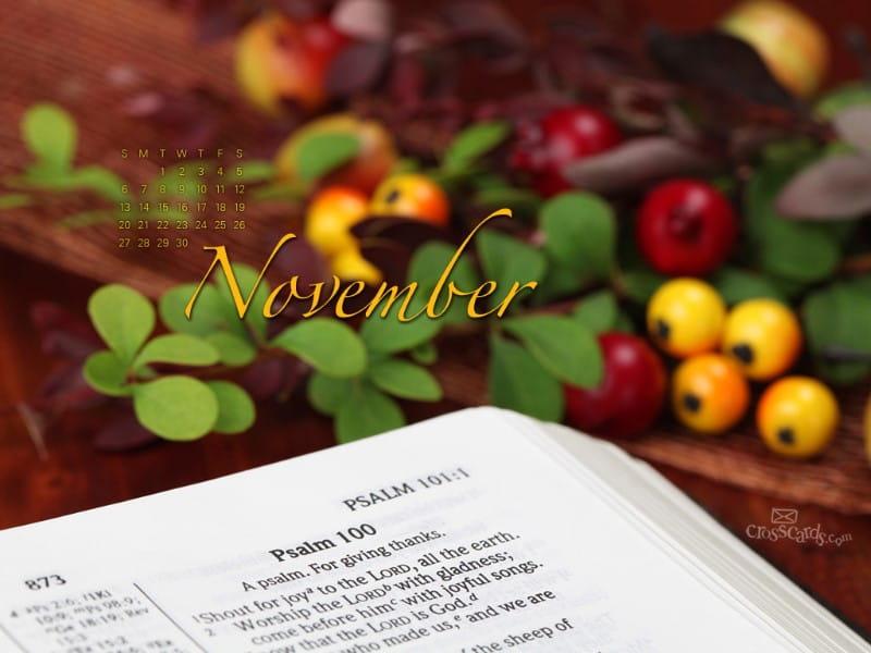 November 2011 - Psalm mobile phone wallpaper