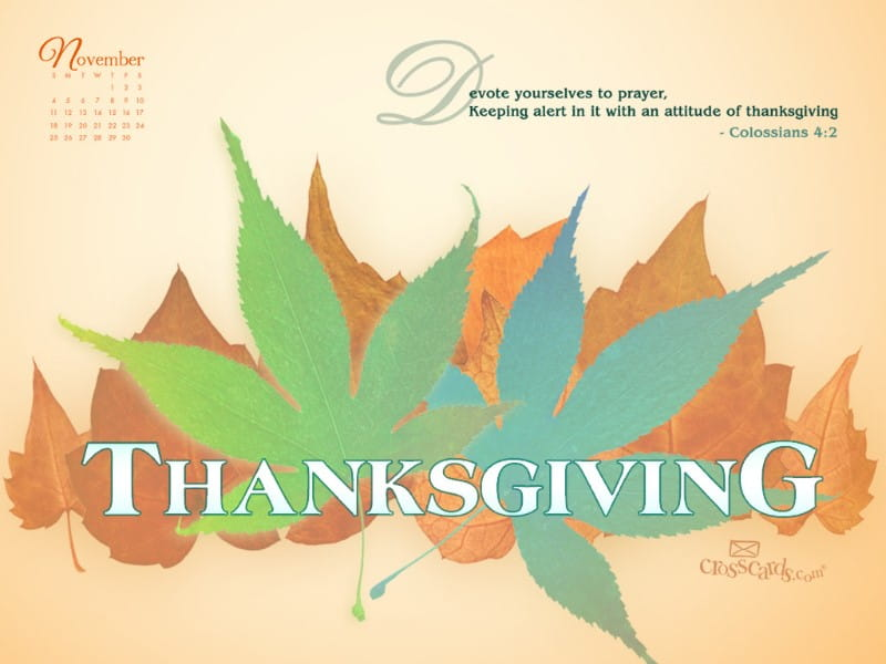 Nov 2012 - Thanksgiving mobile phone wallpaper