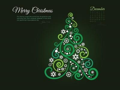 December 2013 - John 3:16 mobile phone wallpaper
