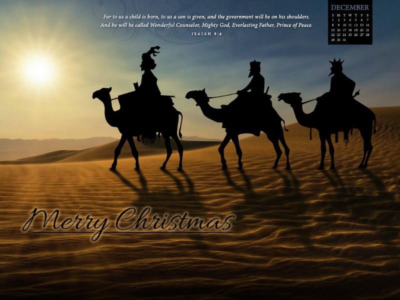 December 2013 - Isaiah 9:6 mobile phone wallpaper