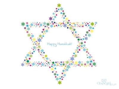 Dec. 2011 - Happy Hanukkah mobile phone wallpaper