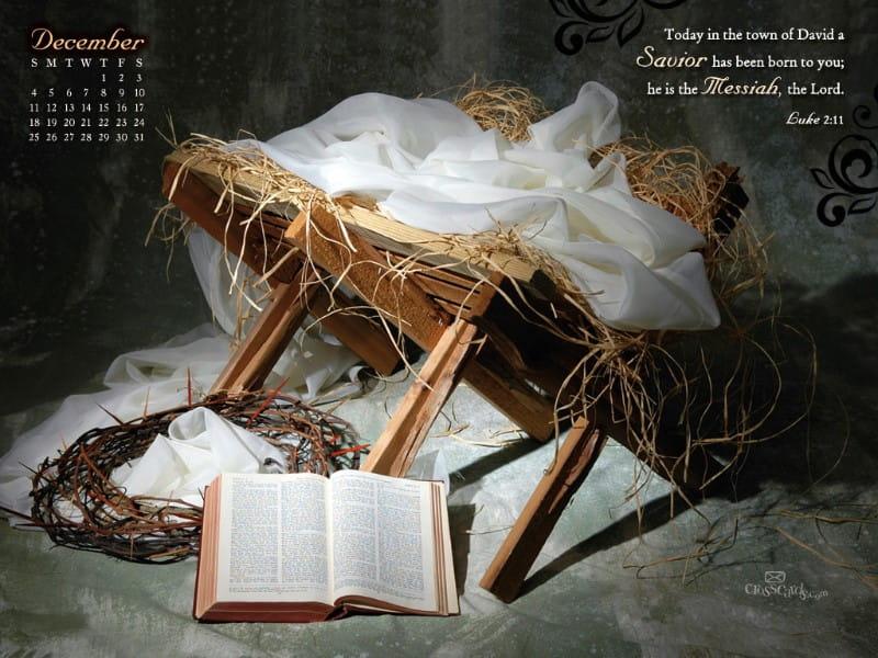 Dec. 2011 - Savior Born mobile phone wallpaper