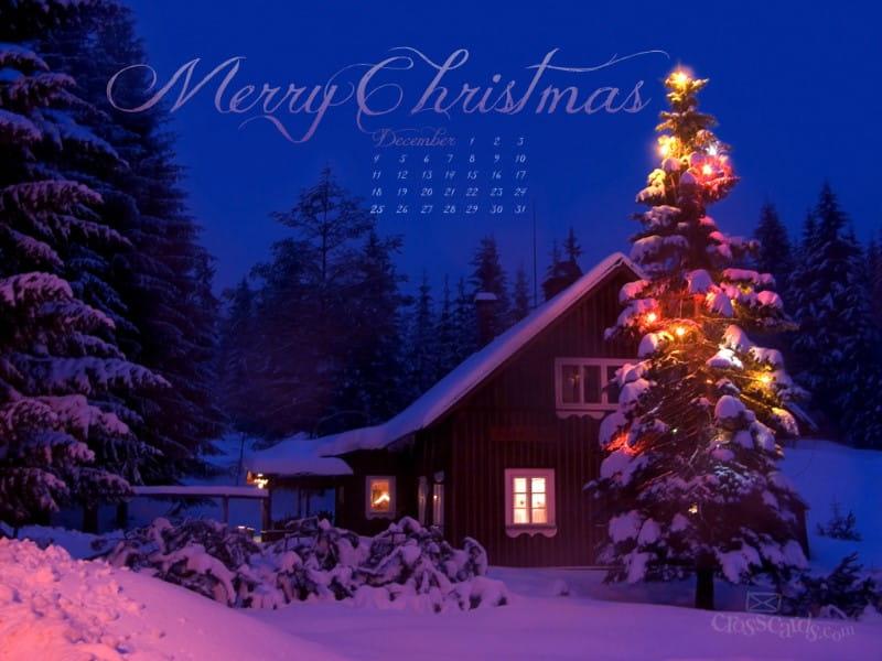 Dec. 2011 - Merry Christmas mobile phone wallpaper