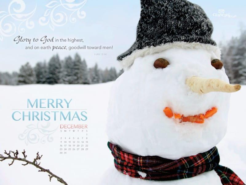 Dec 2012 - Glory to God mobile phone wallpaper
