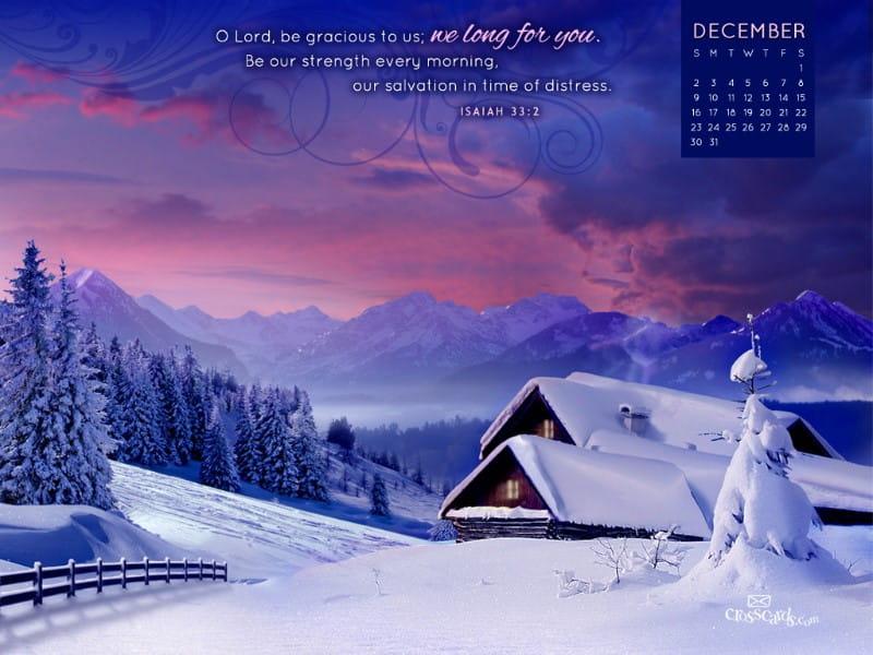 Dec 2012 - Cabin mobile phone wallpaper